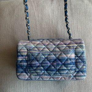 CHANEL Bags - Chanel denim mini flap